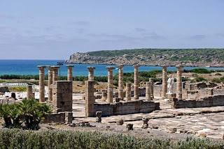 Ruinas de Bolonia en qué ver en los pueblos de Cádiz