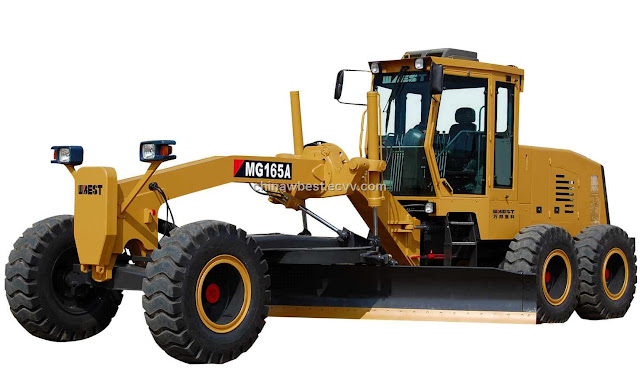 road scraper machine