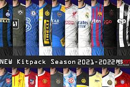 Leaked Kitpack New Season 2021/2022 V4 - PES 2017