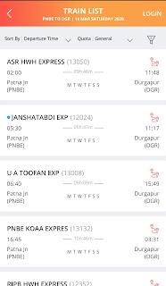 Steps To Book Online Train Tickets Through IRCTC App: