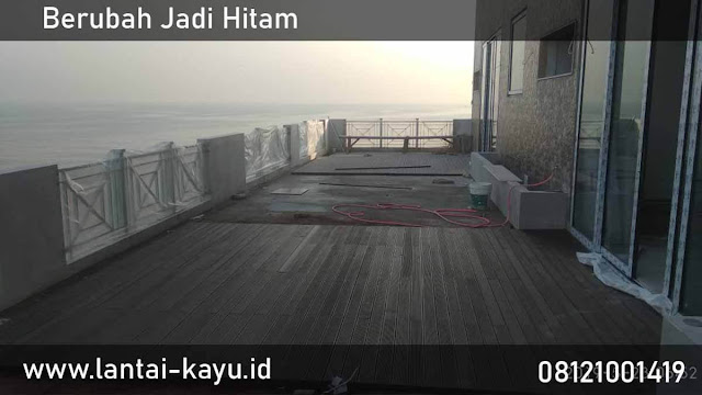 Decking Kayu Ulin sebagai lantai outdoor terbaik