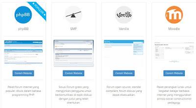 pilihan aplikasi forum online
