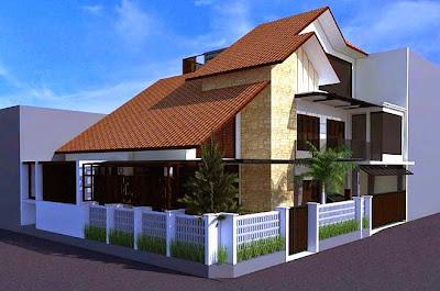 Gambar desain eksterior rumah