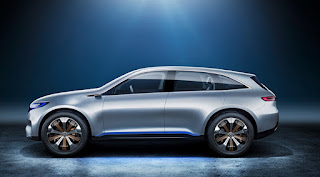 Mercedes-Benz EQ Models  to market by 2025