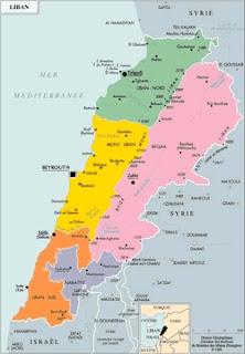 """""""Petit Liban"""" corresponde aproximadamente al área en amarillo"""