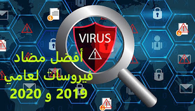 أفضل مضاد فيروسات لعامي 2019 و 2020