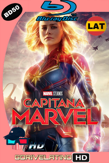 Capitana Marvel (2019) BD50 1080p Latino-Ingles ISO