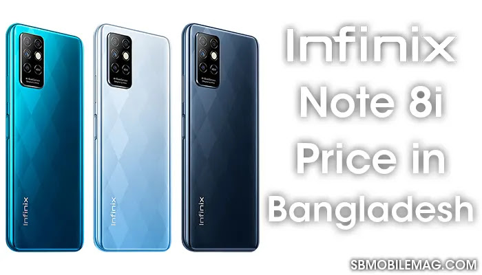 Infinix Note 8i, Infinix Note 8i Price, Infinix Note 8i Price in Bangladesh