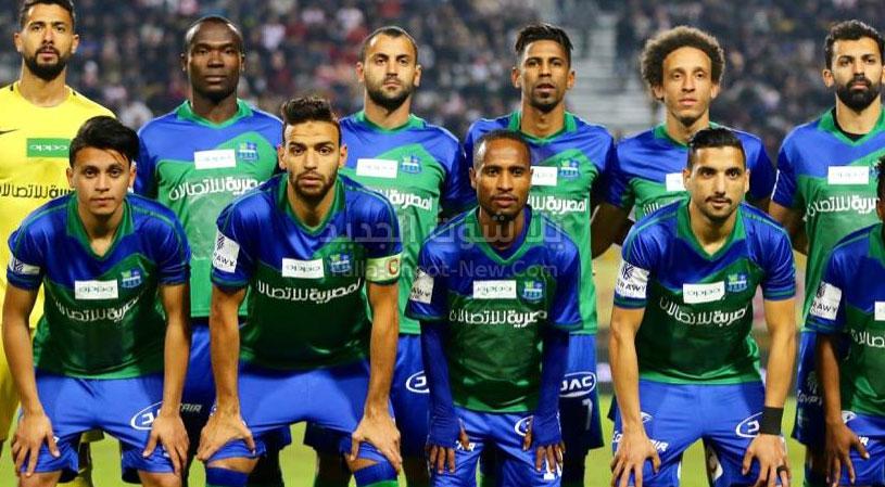 نادي مصر يتجنب الخساره من امام مصر المقاصة بالتعادل في اخر اللحظات في الدوري المصري