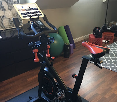 Stock water bottle holder positions on the Bowflex C6