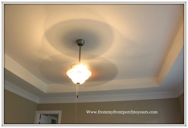 Master Bedroom-Recesed Ceiling-Makeover-Ceiling Fan-From My Front Porch To Yours
