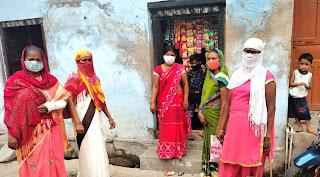 शहर में किया गया कोरोना किट का वितरण    #NayaSaberaNetwork