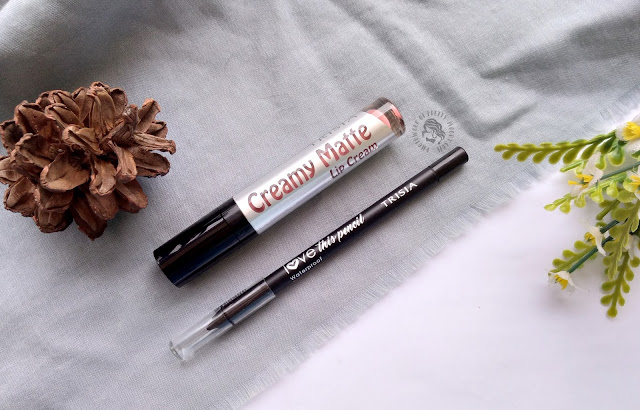 review trisia cosmetic, lipcream, eyebrow, pretty-moody.com