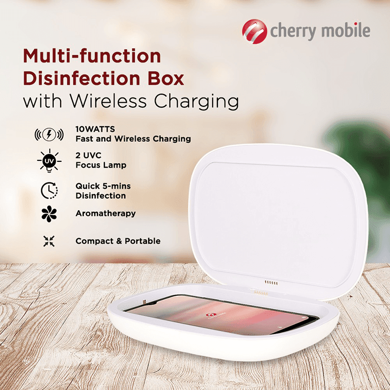 You can get this Cherry disinfection box for PHP 1.5K