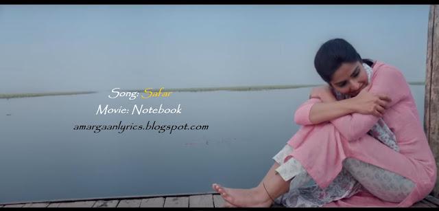 Safar Lyrics [Notebook] - Mohit Chauhan