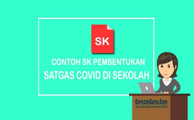 Contoh SK Tim Satgas Covid di Sekolah
