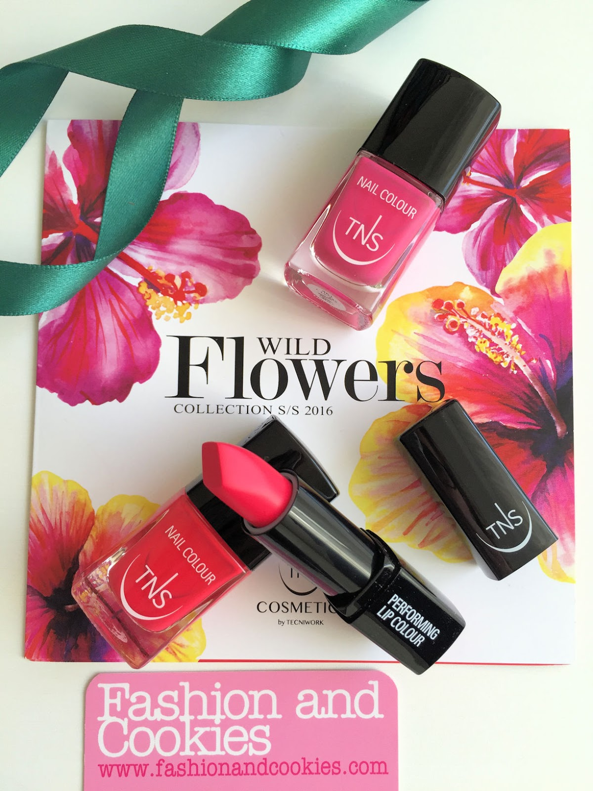 TNS Cosmetics Wild Flowers collection review on Fashion and Cookies beauty blog, beauty blogger