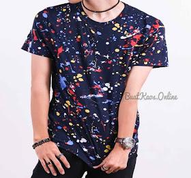 Kaos Polos Bercak Bercak Trend Kaos Distro Bandung Terbaru Jangan Ketinggalan <del>Rp65.000</del> <price>Rp48.000</price> <code>SKU-Bercak2</code>