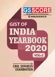 GS SCORE Gist Of India Year Book Vol 2 pdf 2020