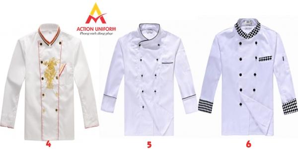 Mẫu áo bếp 2