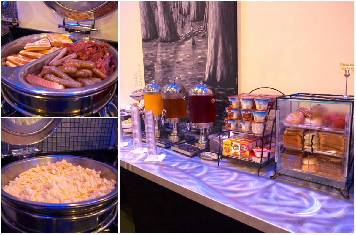 Hotel Le Marais New Orleans Review | Continental Breakfast