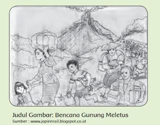 Judul Gambar: Bencana Gunung Meletus www.simplenews.me