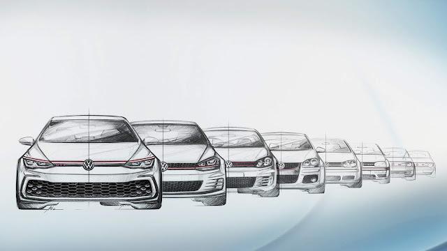 Volkswagen Golf GTI - a história das 8 primeiras gerações