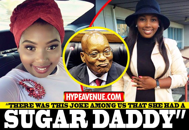 Zuma's 24 year old fiancée is forced to resign