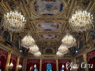 Salle des fêtes, Palais de l'Elysée, Paris