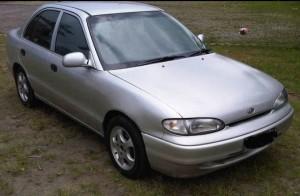 Tampilan Hyundai Accent
