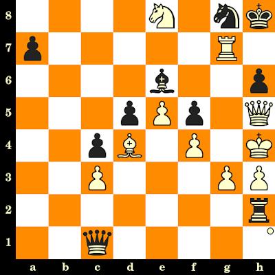 Les Blancs jouent et matent en 3 coups - Andor Lilienthal vs Erich Eliskases, Budapest, 1934