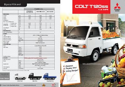 mitsubishi colt T120ss pickup harga