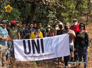 ¡Lo logramos!, reforestamos parte del Parque Nacional El Tepozteco con cerca de 100 árboles, gracias a todos los participantes del Proyecto Re-Monte
