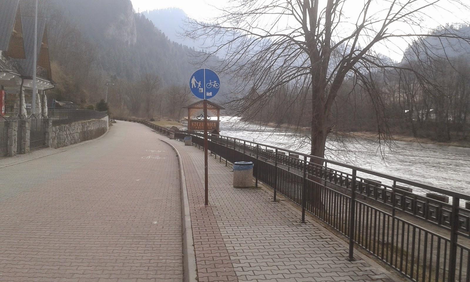Pieniny ścieżka rowerowa
