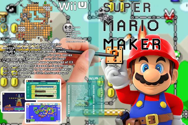 Capa Super Mario Maker Wii U