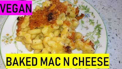 baked vegan mac n cheese