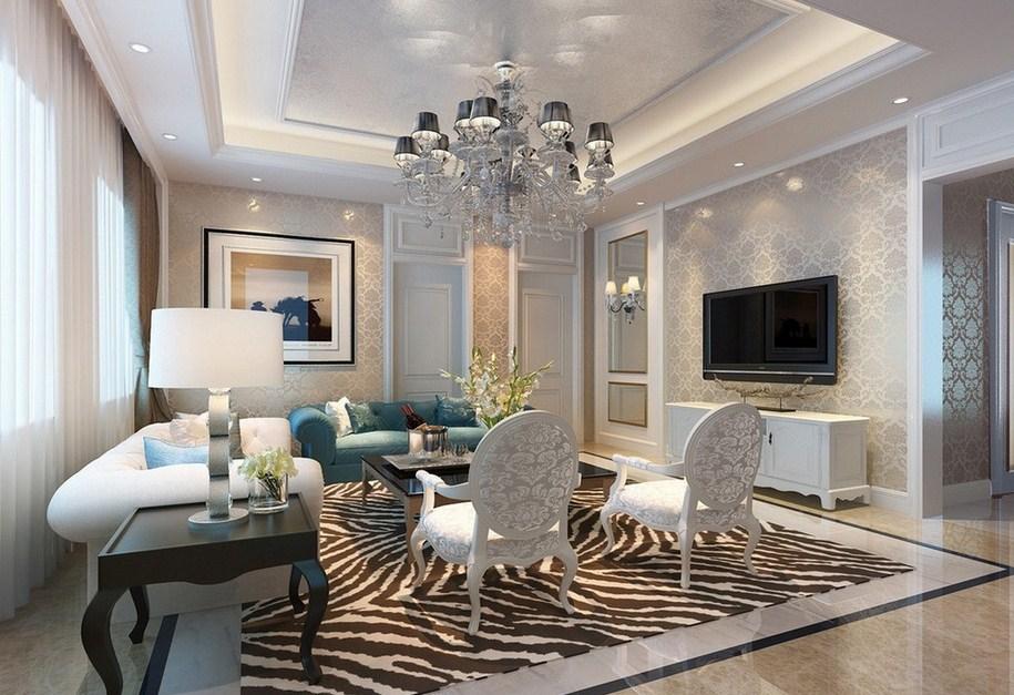400 Ide Desain Ruang Tamu Mewah Elegan HD Paling Keren Yang Bisa Anda Tiru