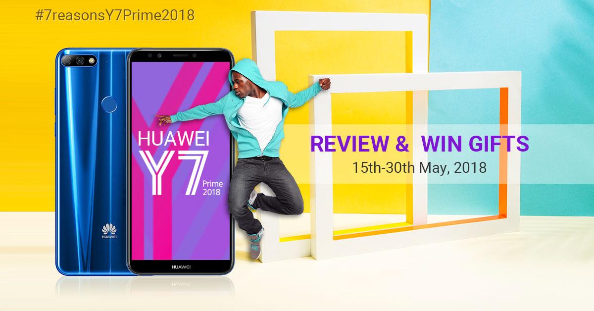Kilimall Kenya: Rewards for #HuaweiY7Prime2018 fans! Review