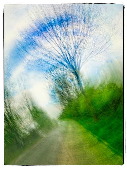 unterwegs, gestische Fotografie, icm, intentional camera movement, Fotokunst, Kunst, art, Fotoart, Dorothe Domke, Sauerland