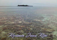 pemandangan laut pulau tengah karimunjawa