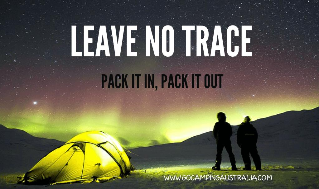 leave no trace australia