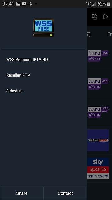 تحميل أحدث إصدار من World Sports Stream WSS 3.0 لمشاهدة مبارياتك المفضلة