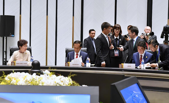 Presiden Jokowi: Laut Harus Menjadi Pusat Pembangunan Ekonomi Bagi APEC