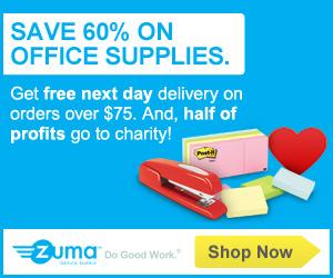 Zuma Office Supply Great Offer