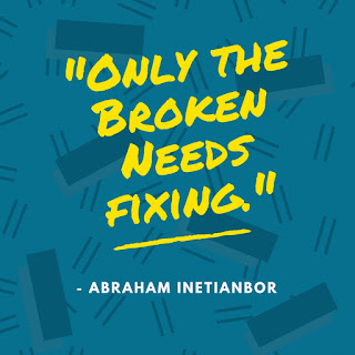 broken life by Abraham Inetianbor