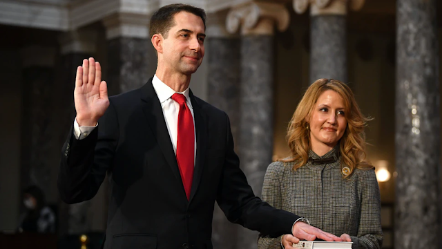 Sen. Tom Cotton Rejects GOP Efforts On January 6: Would 'Establish Unwise Precedents,' 'Embolden Democrats' Who Want To Destroy Constitution