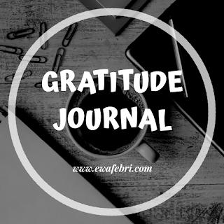 gratitude journal adalah