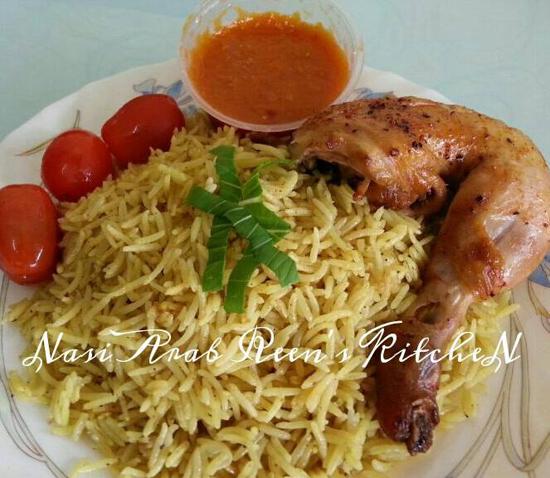 Masak Nasi Arab Mudah Reen's Kitchen