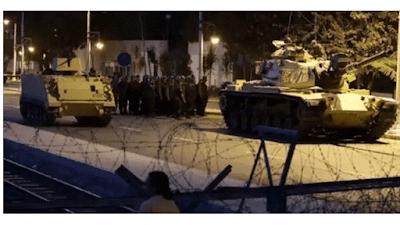 Στρατιωτικό Πραξικόπημα στην Τουρκία