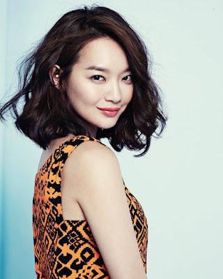 Shin Min Ah rambut pendek manis dan seksi kulit mulus indah